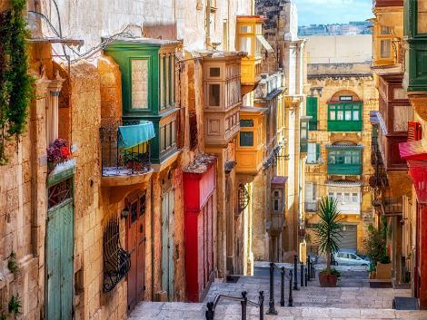 ◇◎マルタ(ヴァレッタ地区):街並み