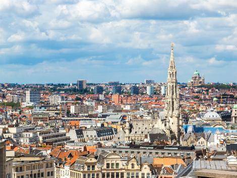 ◇◎ブリュッセル:街並み