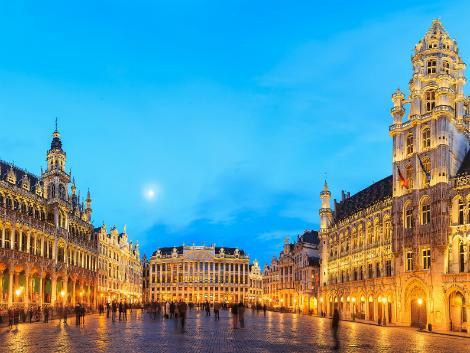 ◇◎ブリュッセル:夜のグランプラス