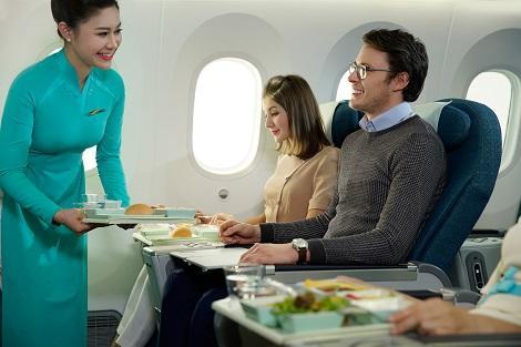 ベトナム航空プレミアムエコノミークラス イメージ ※座席配列等、路線により異なる場合がございます