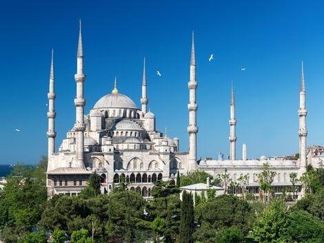 ◇イスタンブール:ブルーモスク
