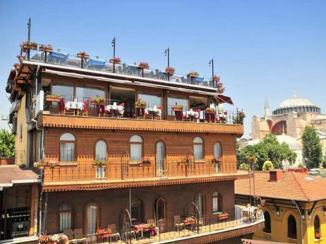 イスタンブール:7 ヒルズ ホテル 外観