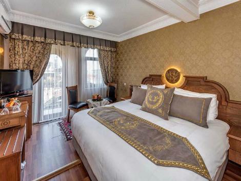 イスタンブール:7 ヒルズ ホテル 客室一例