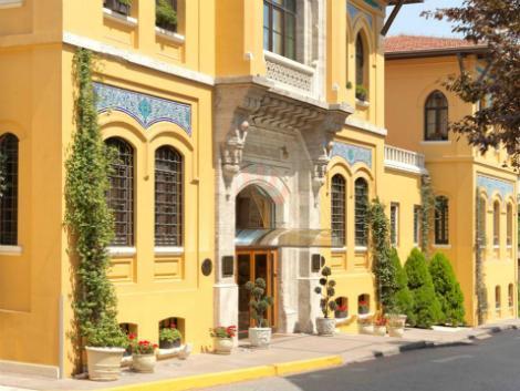 イスタンブール:フォーシーズンズ ホテル スルタンアフメット 外観