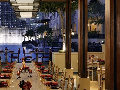 ドバイ:ザ パレス ダウンタウン ドバイ レストラン