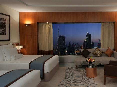 ドバイ:ジュメイラ エミレーツ タワーズ 客室一例