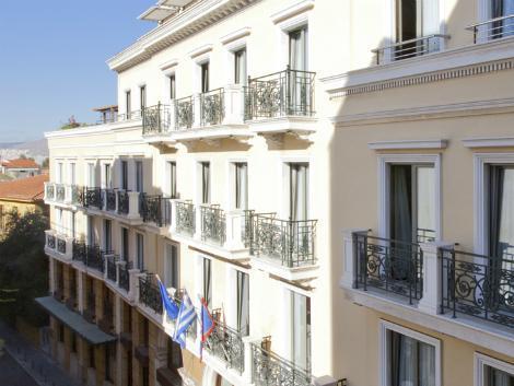 アテネ:エレクトラ パレス 外観