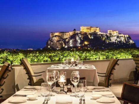アテネ:グランデ ブルターニュ レストラン