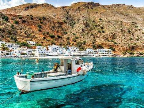 ◇◎クレタ島:透明度の高い海