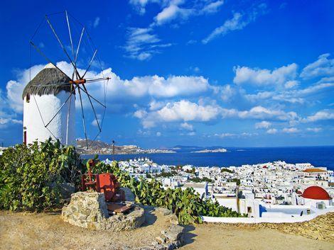 ◇ミコノス島:街並み