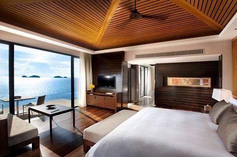 サムイ島:コンラッド コ サムイ リゾート アンド スパ ウォーターフロントプールヴィラ 客室一例