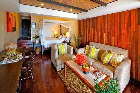 サムイ島:ザ トンサイベイ ビーチフロントスイート 客室一例