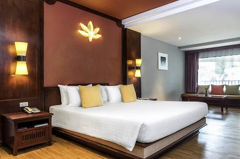 サムイ島:ノボテル サムイ リゾート チャウエン ビーチ カンダブリ スーペリアルーム ヒルサイド 客室一例
