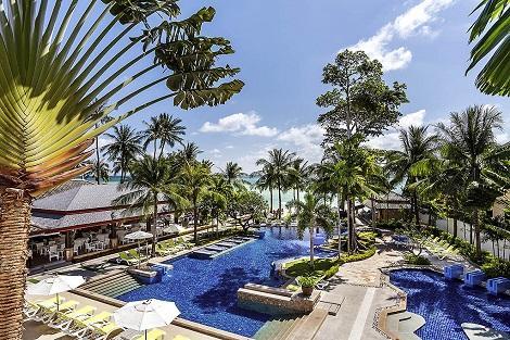 サムイ島:ノボテル サムイ リゾート チャウエン ビーチ カンダブリ プール