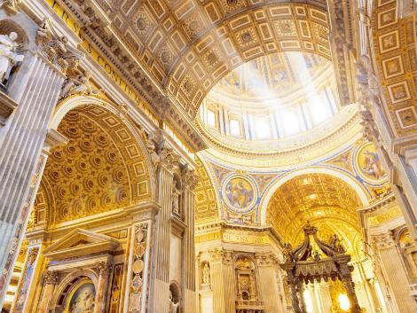 ◇ローマ:サンピエトロ大聖堂(ヴァチカン)