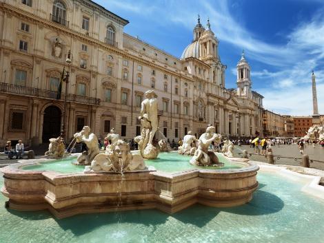 ◇ローマ:ナヴォーナ広場