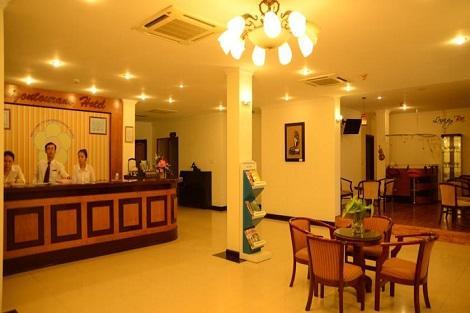 ダナン:サイゴン トゥーラン ホテル ロビー