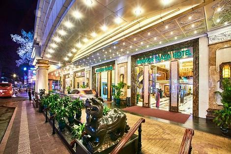 ホーチミン:ウィンザー プラザ ホテル エントランス