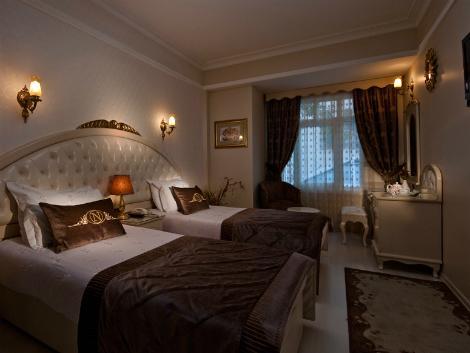 イスタンブール:ホテル ネナ 客室一例