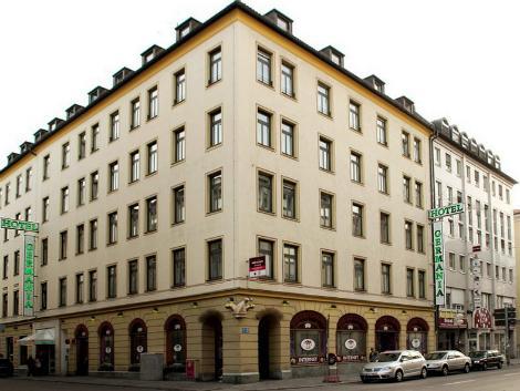 ミュンヘン:ゲルマニア ホテル 外観