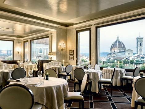 フィレンツェ:グランド ホテル バリョーニ レストラン