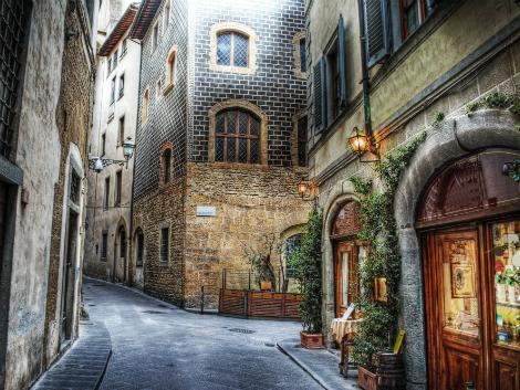 ◇フィレンツェ:歴史地区の街並み