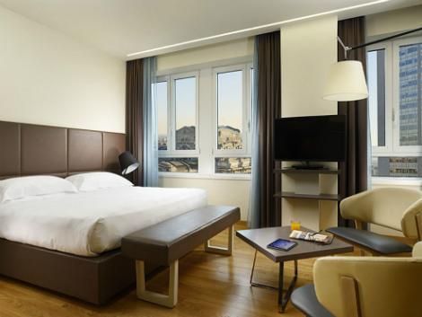 ミラノ:ウナ ホテル センチュリー 客室一例
