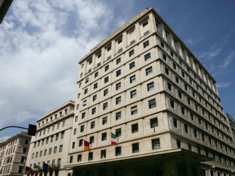 ローマ:ベットーヤ ホテル メディテラネーオ 外観