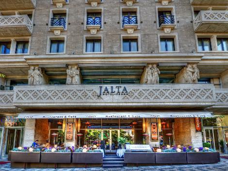 プラハ:ヤルタ ホテル プラハ 外観
