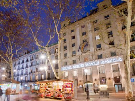 バルセロナ:リボリ ランブラス 外観