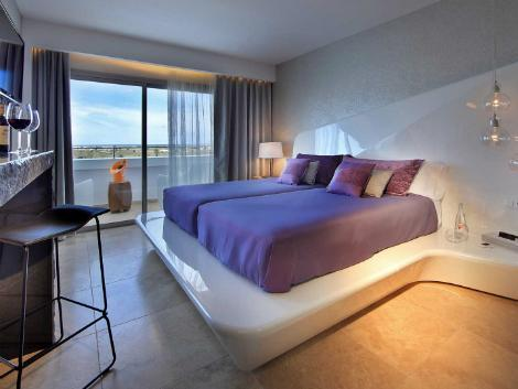 イビサ島:ウシュアイア イビサ ビーチ ホテル 客室一例
