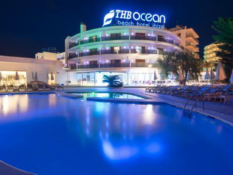 イビサ島:ホテル THB オーシャン ビーチ 外観