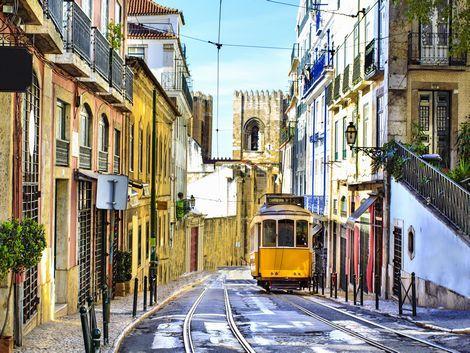 ◇◎リスボン:トラムと街並み