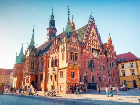 ◇◎ヴロツワフ:旧市庁舎
