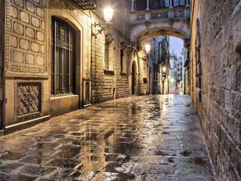 ◇バルセロナ:ゴシック地区
