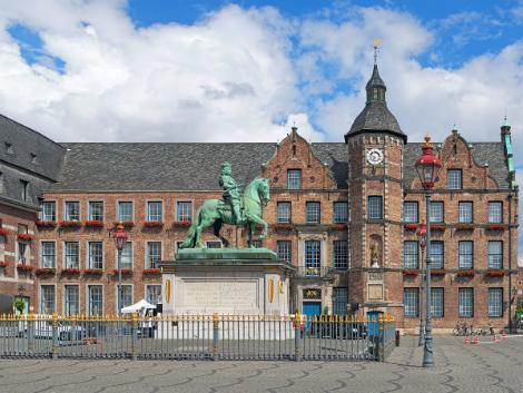 ◇◎デュッセルドルフ:市庁舎