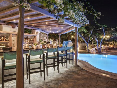 ミコノス島:レト ホテル プールバー
