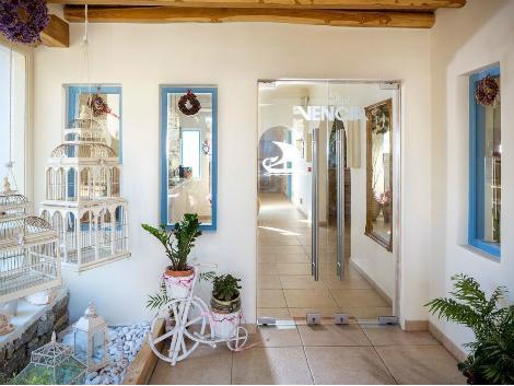 ミコノス島:ベンシア ブティック ホテル ロビー