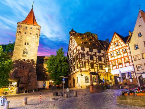 ◇◎ニュルンベルグ:夜の旧市街