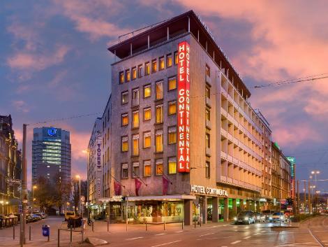 フランクフルト:コンチネンタル ホテル 外観