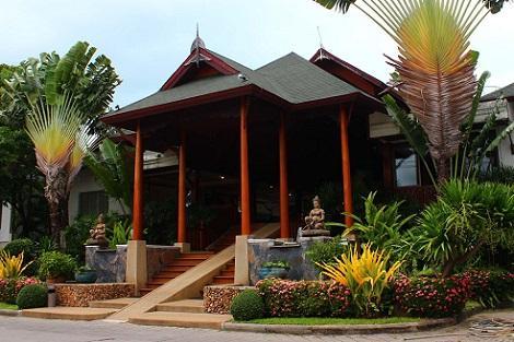 サムイ島:バナナ ファンシー リゾート エントランス