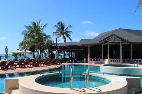 サムイ島:バナナ ファンシー リゾート プール