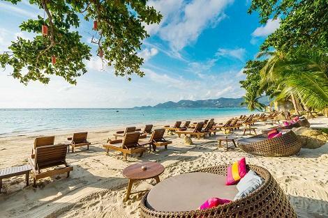 サムイ島:ムアン サムイ スパ リゾート  ビーチ
