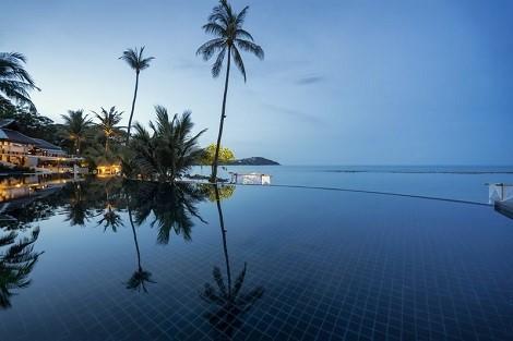 サムイ島:アナンタラ ラワナ リゾート アンド スパ プール