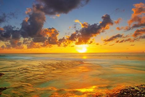 サムイ島:チャウエンビーチのサンライズ