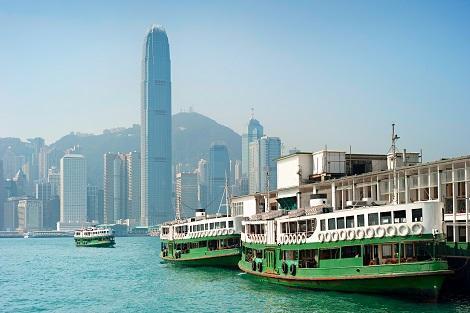 香港:スターフェリー