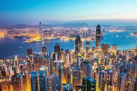 香港:夜景