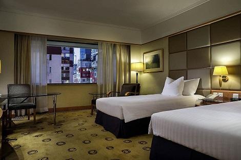 香港:ザ パーク レーン 香港 ア プルマン ホテル 客室一例