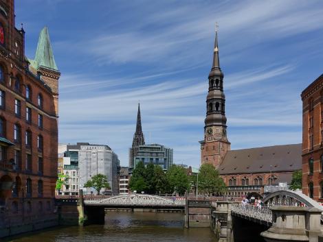 ◇◎ハンブルク:街並み