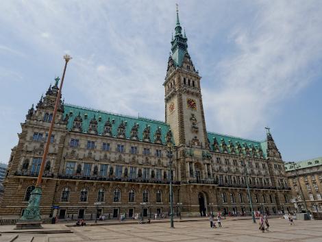 ◇◎ハンブルク:市庁舎